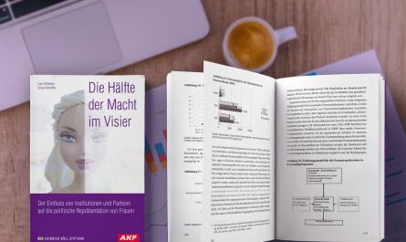Lars Holtkamp, Sonja Schnittke: Die Hälfte der Macht im Visier Der Einfluss von Institutionen und Parteien auf die politische Repräsentation von Frauen