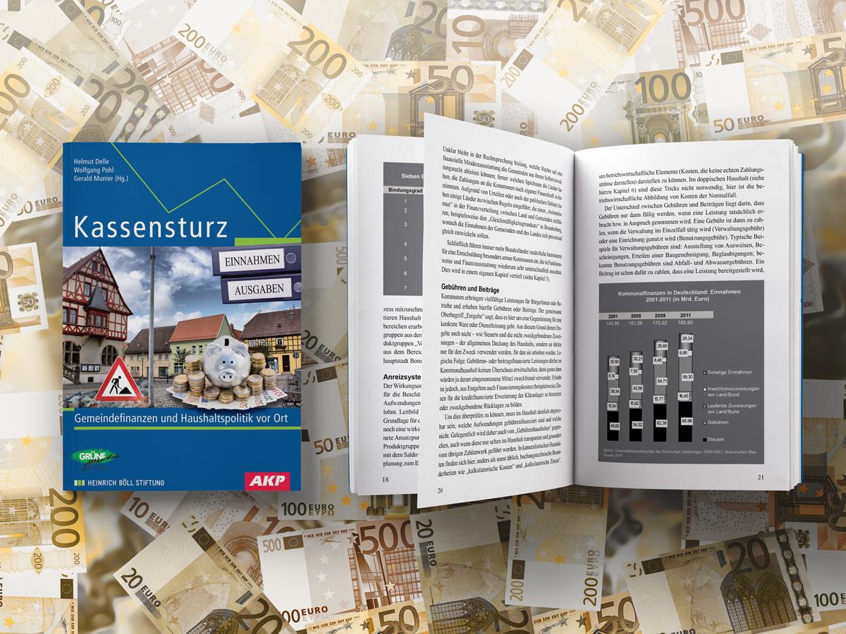 Helmut Delle, Wolfgang Pohl, Gerald Munier (Hg.): Kassensturz Gemeindefinanzen und Haushaltspolitik vor Ort