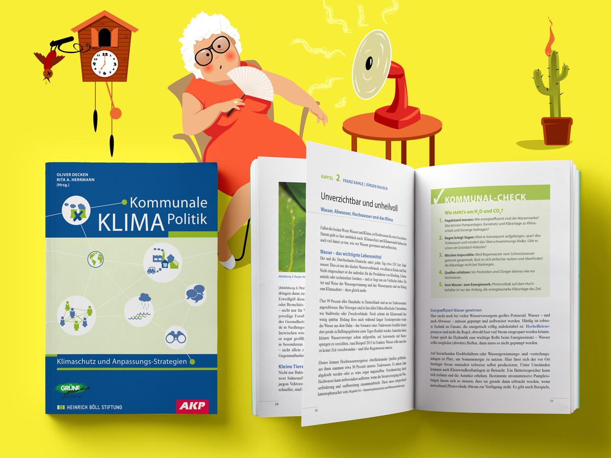 Oliver Decken, Rita A. Herrmann (Hg.): Kommunale KLIMA Politik Klimaschutz und Anpassungs-Strategien