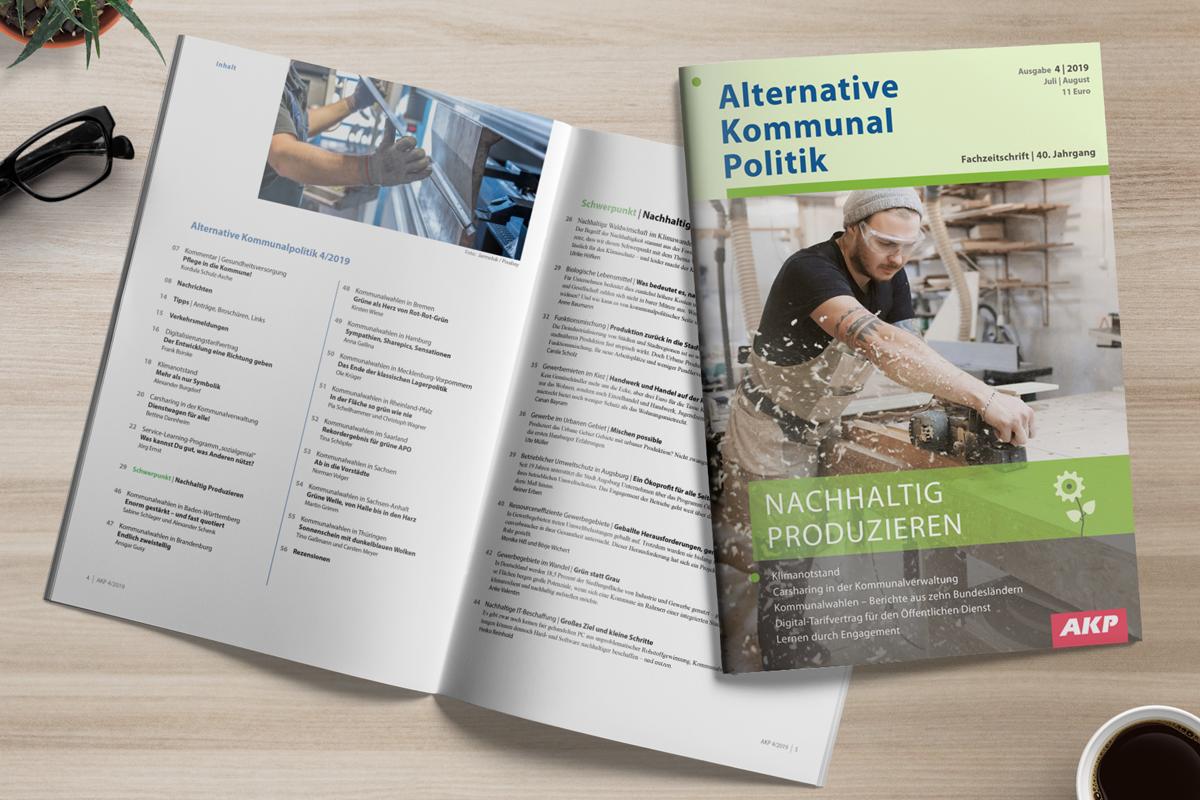 AKP 4/2019: Nachhaltig Produzieren