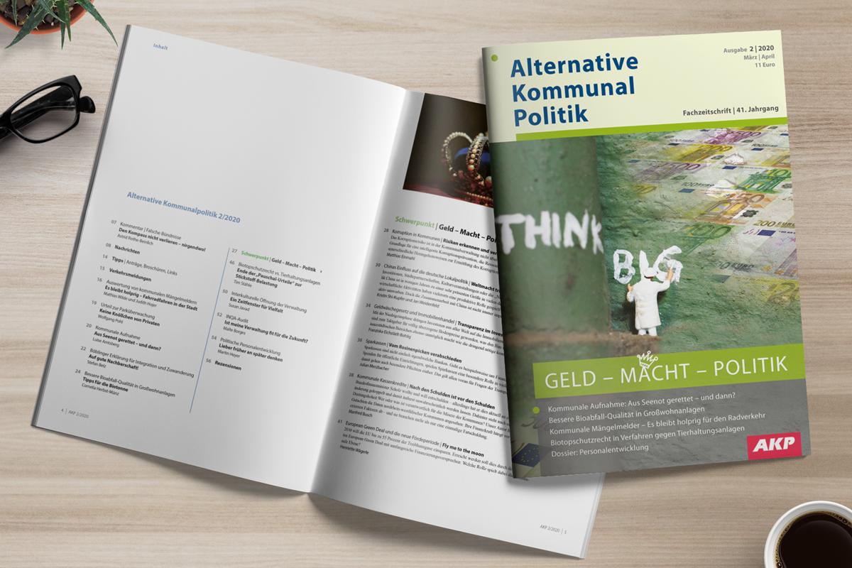 AKP 2/2020: Geld – Macht – Politik