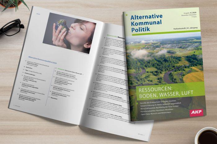 AKP 6/2020: Ressourcen: Boden, Wasser, Luft
